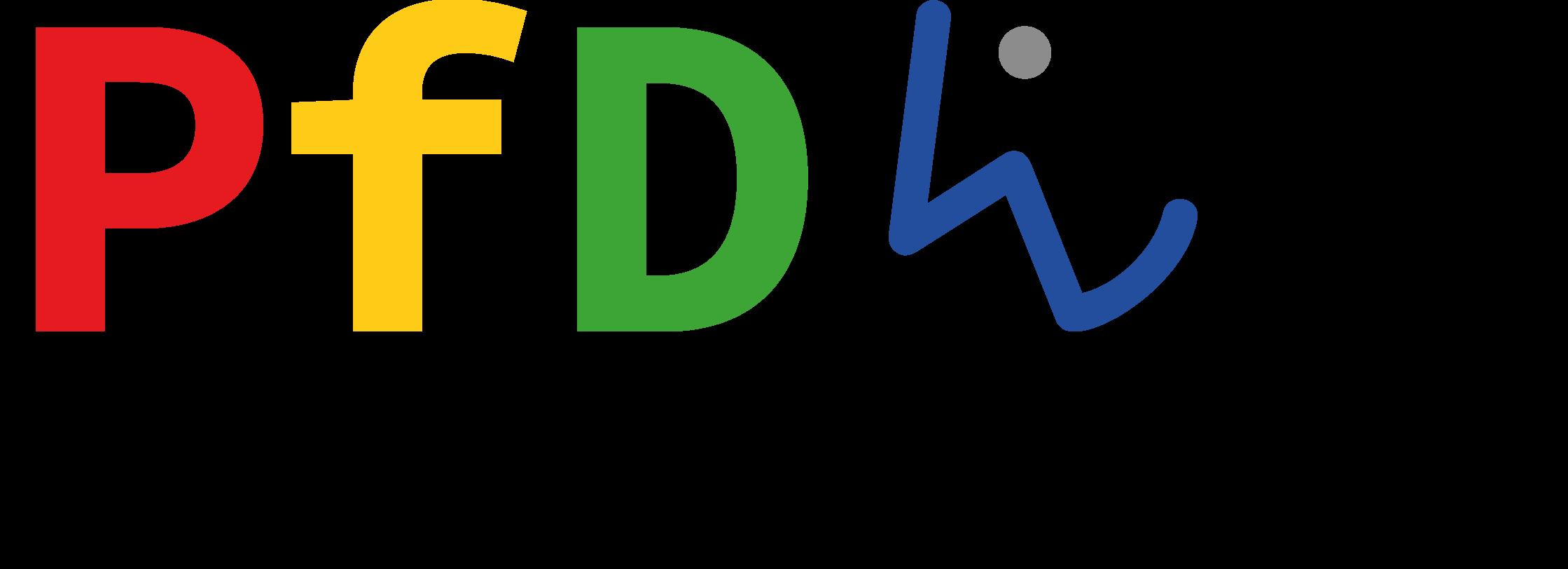 Logo der Partnerscahft für Demokratie Wiesloch ohne Text