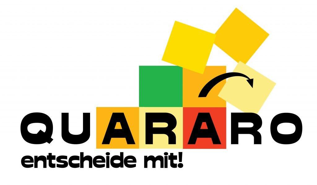 Logo des Demokratiespiels QUARARO