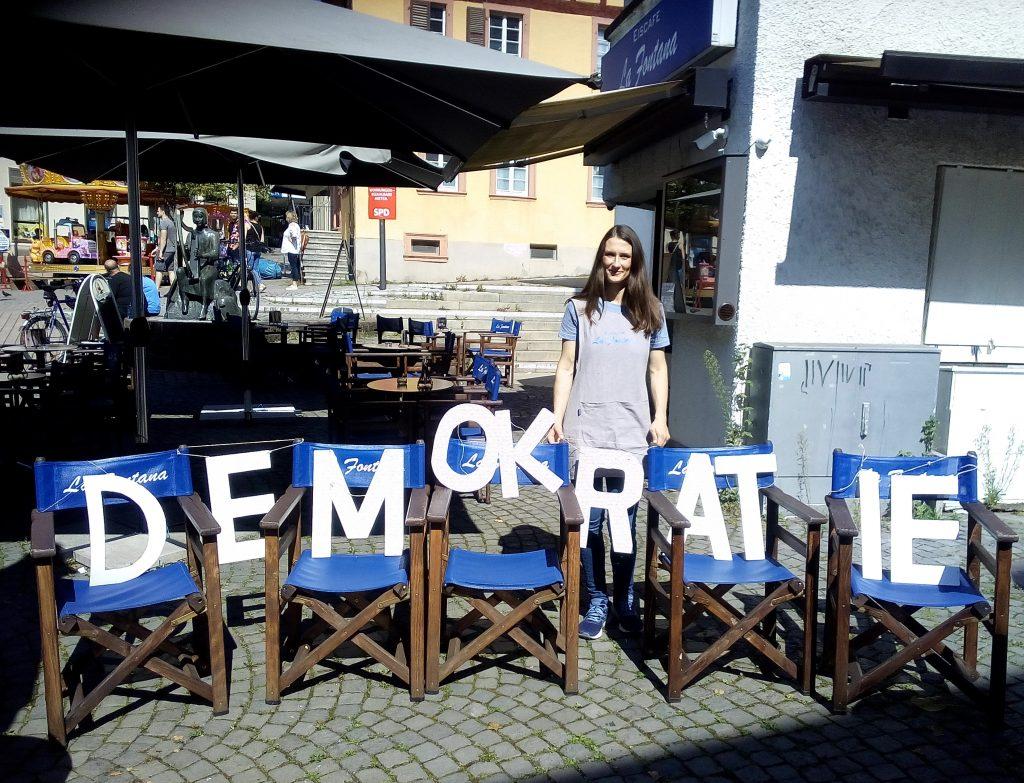 """LA FONTANA unterstützt den TAG DER LEBENDIGEN DEMOKRATIE"""